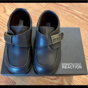 Worn once Kenneth Cole Velcro dress shoes